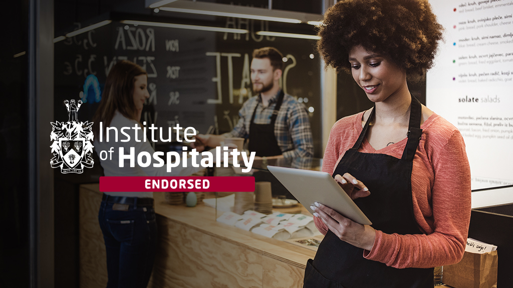 Institute of Hospitality Graphic